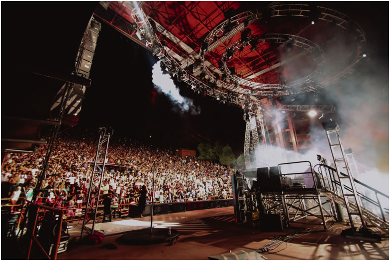 Catch a Spectacular Show at Colorado's Renowned Red Rocks Amphitheatre